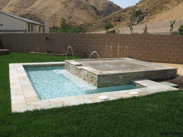 Backyard Splash Pads splash pad area for a small backyard. | h o m e | pinterest | splash