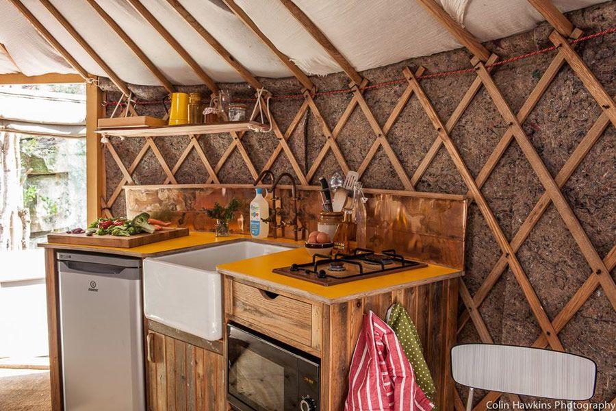 Bathroom Yurt yurt kitchen | glamping | pinterest | kitchens, yurts and yurt living
