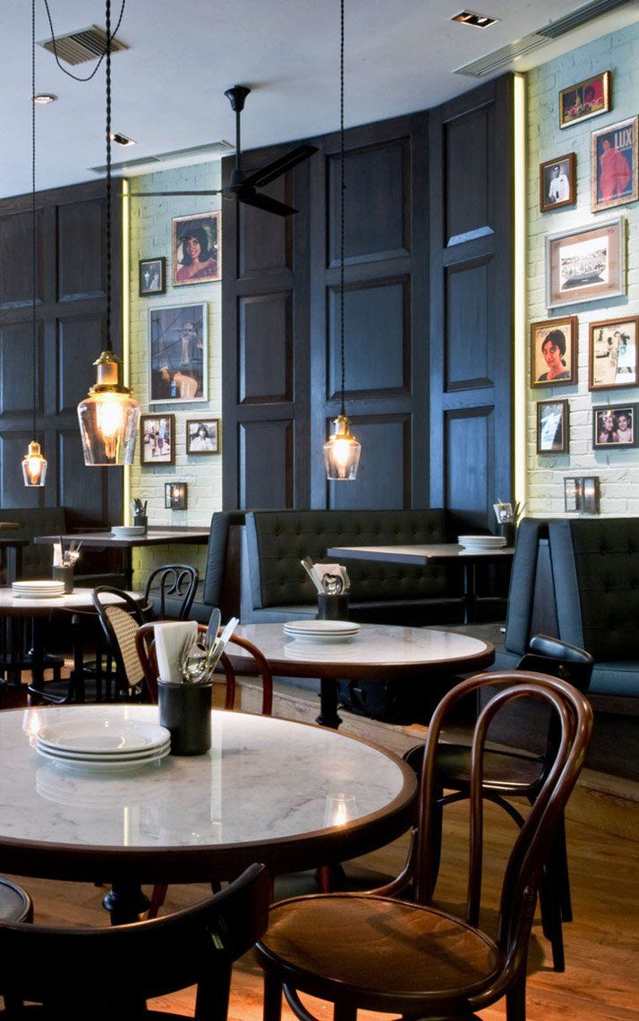 Dishoom The first UK Bombay Café Restaurant interior