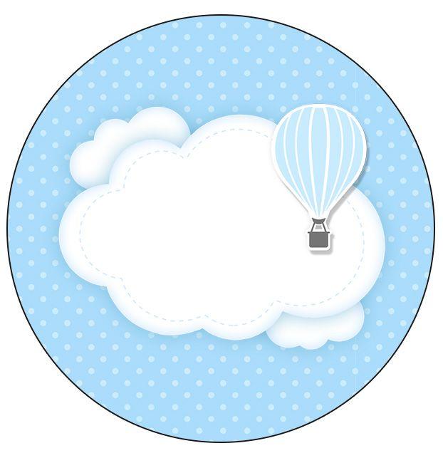Adesivos De Caminhao Qualificados ~ Molde para Latinha Bal u00e3o de Ar Quente Azul Balões de ar quente, Bal u00e3o de ar e Balões