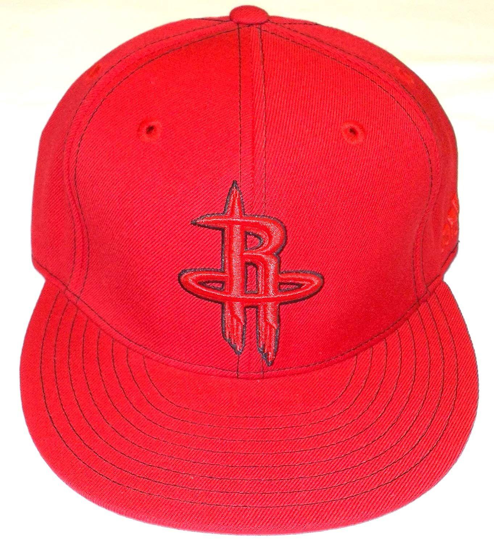 wholesale dealer 55cc9 ac3f9 NBA Houston Rockets Flat Bill Fitted Adidas Hat - 7 3 8 --  10.99