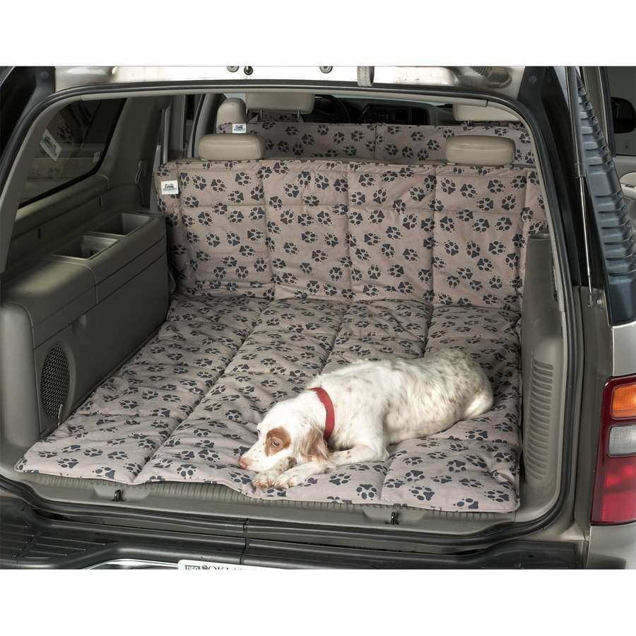 Turns the back of an SUV or wagon into a comfortable