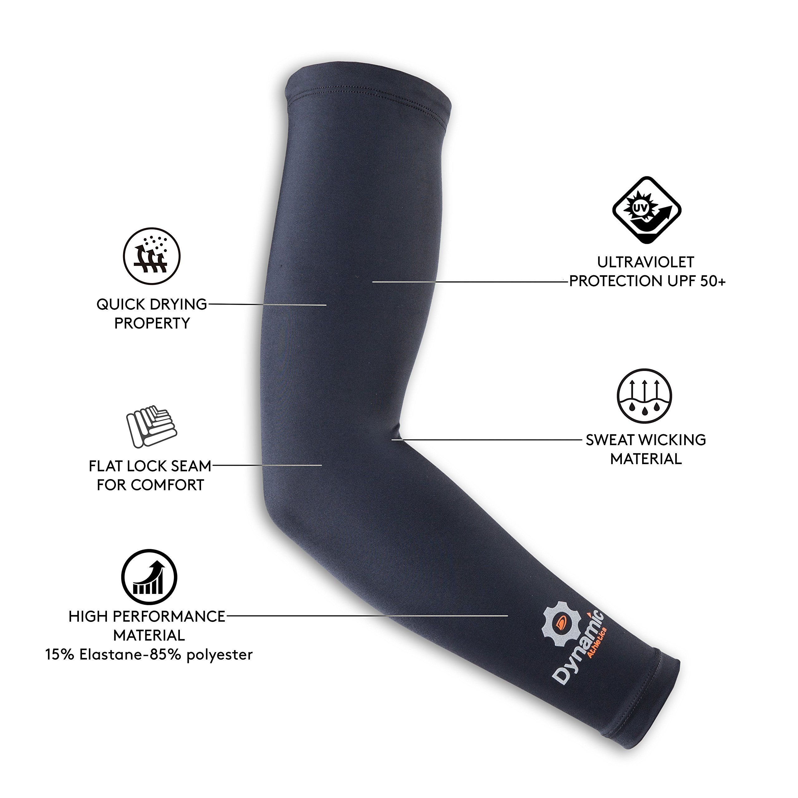 Compression arm sleeves 1 pair best athletic arm