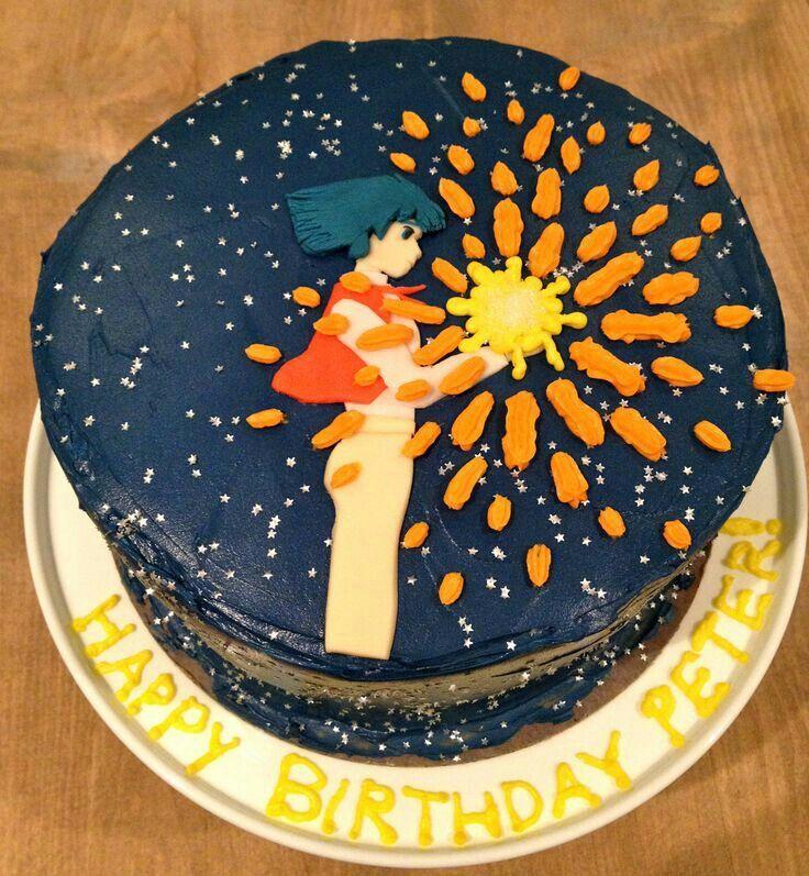 Spirited Away, Studio Ghibli, cake; Anime Food Anime