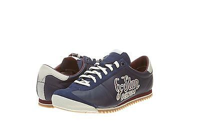 G-star Raw Frisk Strut Logo Ii  Gs52318 Mens BLUE/WHITE GS52318-3AD Sneakers