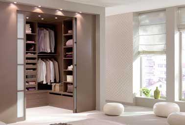 Déco chambre : 10 dressing futés dans la chambre parentale ...