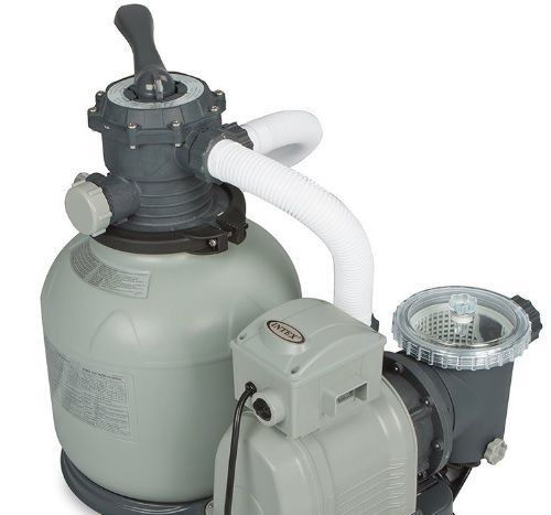 Intex Sand Filter Swimming Pool Pump For Above Ground Pools 2800gph In Ground Pools Above Ground Pool Pool Sand
