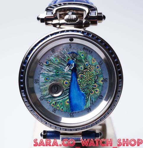 Bovet-Miniature-Painting-Animals-Bovet-Peacock-18k-White-Gold