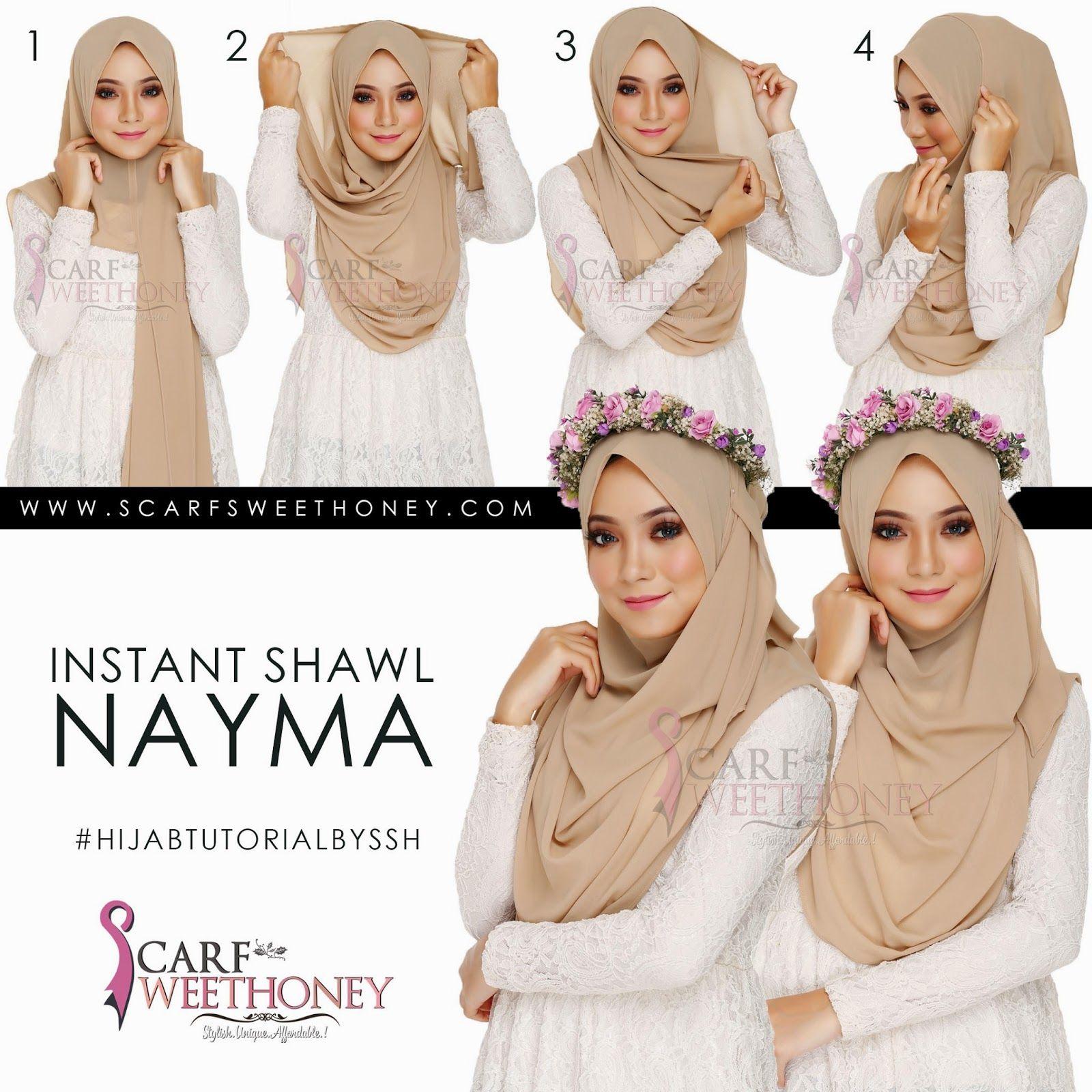 Tuto NAYMA Nude Brownjpg 16001600 Hijab Pinterest Hijabs