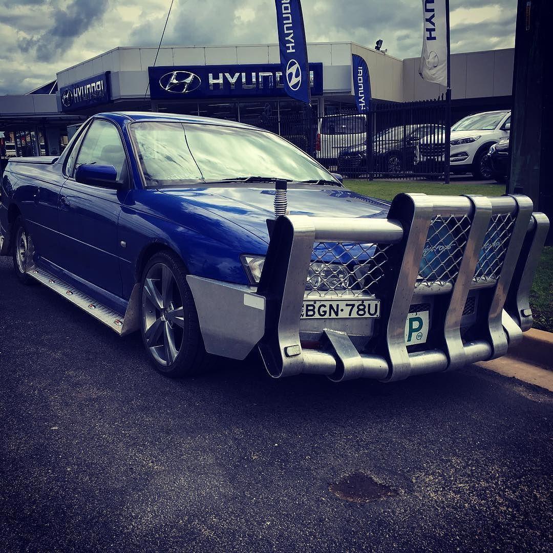 Thumper Must Be Back In The Heartland Bullbar Bns Ute Holden Roochaser Madeinaustralia Bull Bar Ute 4x4