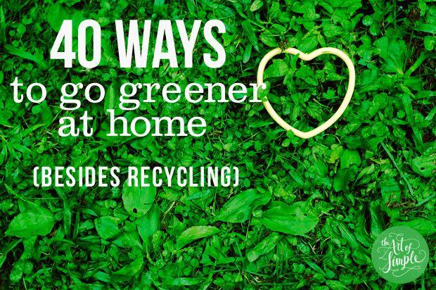 Gute Ideen, die dabei helfen, zu Hause umweltfreundlicher zu leben. #büroshop24
