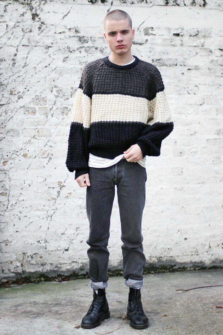 97efd720edfbc Mens-Style-Oversized-Jumper-Fashion-Jeans