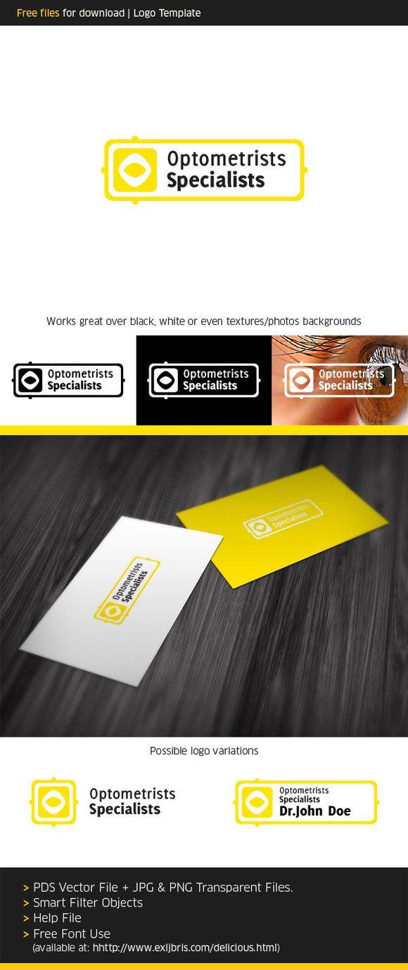 Free Psd Optics Logo By Royks On Deviantart Logo Inspirations