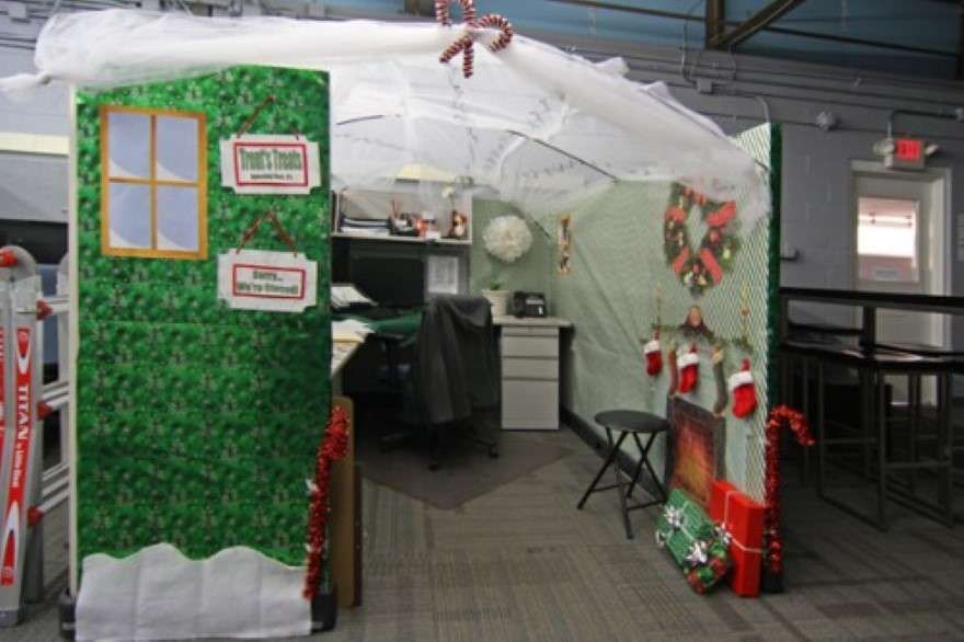 Holiday Cubicle Decorating Contest Ideas Part - 23: Office Christmas Door Decorating Contest Ideas - Http://sdyxt.com/office