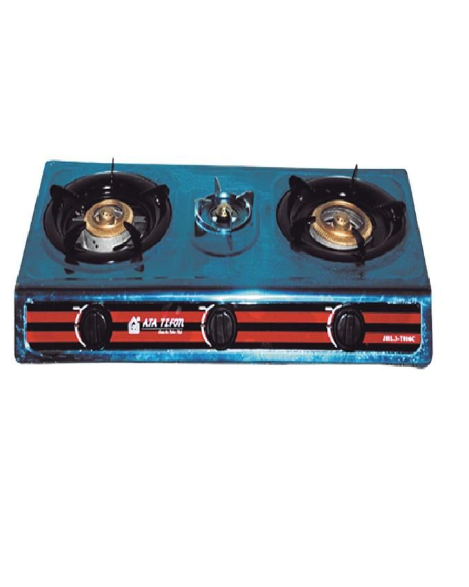 ata stainless steel gas stove 3 flame buy online jumia egypt rh pinterest com