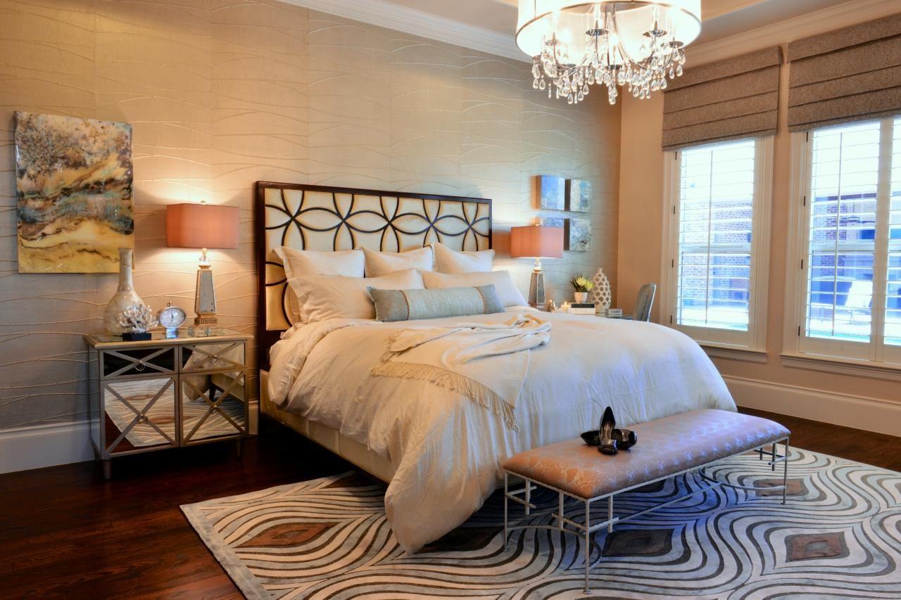 Elegant Master Bedroom With Pastel Color Palette Elegant Master Bedroom Transitional Master Bedroom Elegant Bedroom Beautiful transitional master bedroom