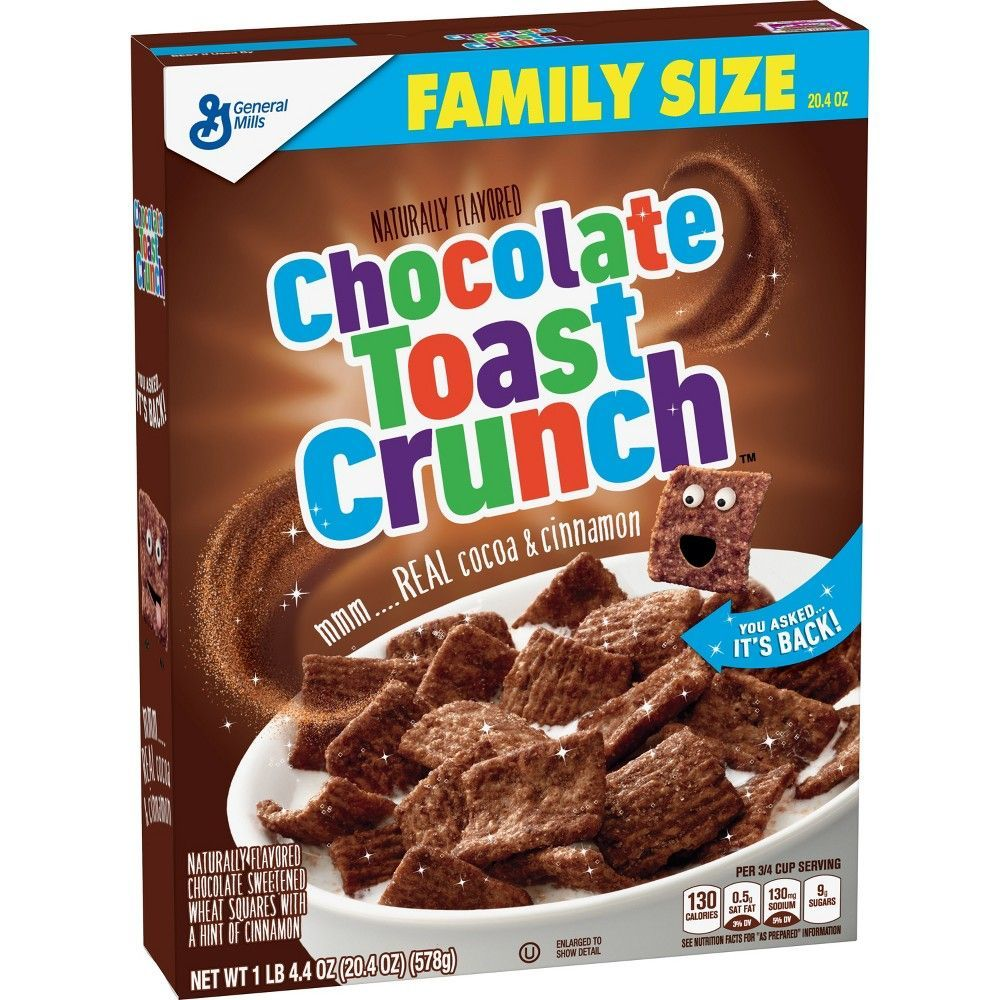Cinnamon Toast Crunch Chocolate Breakfast Cereal - 20.4oz #cinnamontoastcrunch Cinnamon Toast Crunch Chocolate Breakfast Cereal - 20.4oz #cinnamontoastcrunch