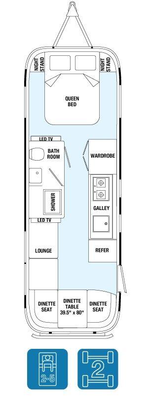 Travel Trailers Yacht Flooring Travel Trailer Floor Plans Interior Floor Plan
