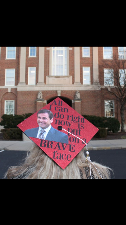 Michael Scott graduation cap #graduationcap #graduation #college #theoffice #michaelscott