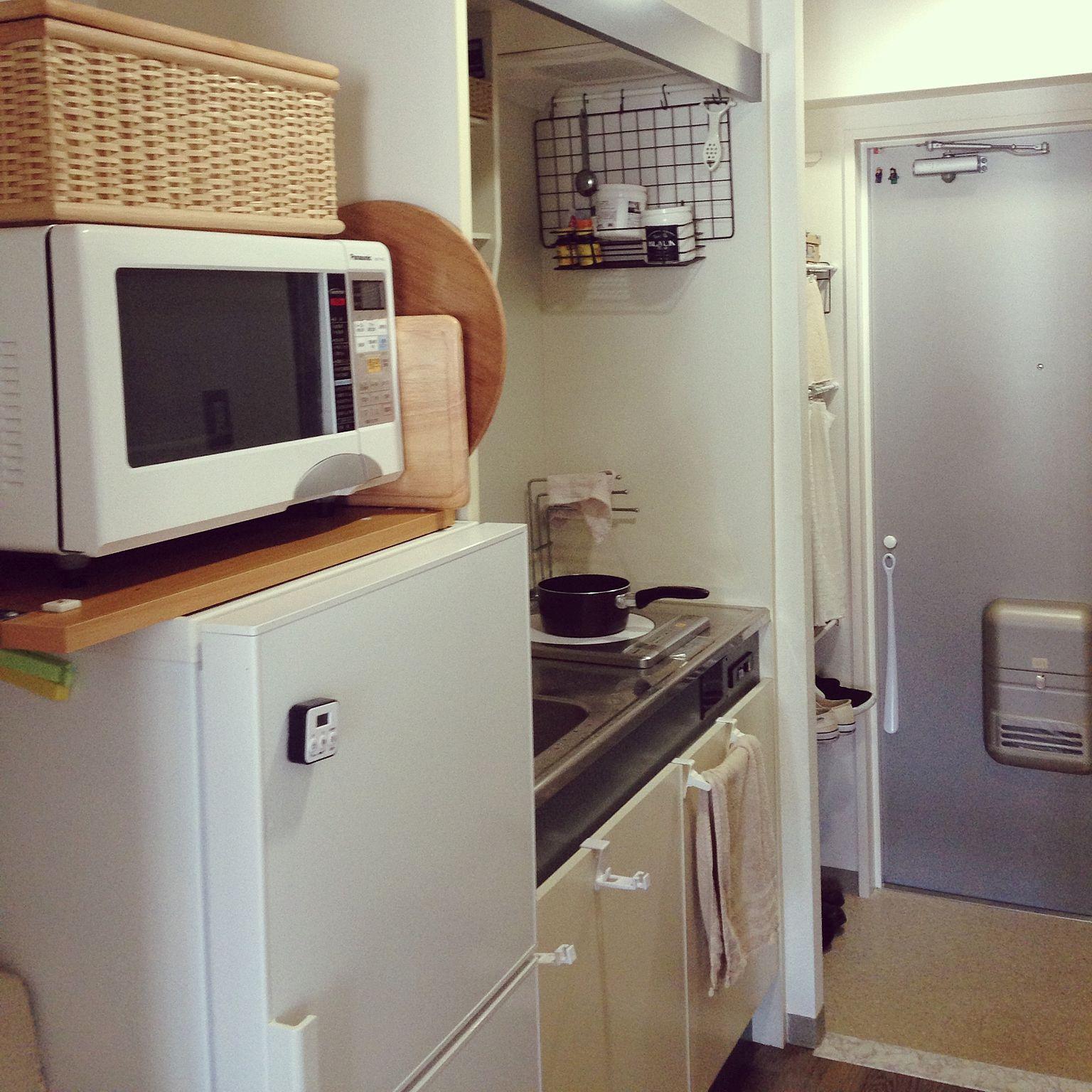 キッチン 無印良品 一人暮らし ミニマリストになりたい ナチュラル などのインテリア実例 2016 01 09 10 57 16 Roomclip ルームクリップ 狭いキッチン レイアウト アパートのインテリア インテリア