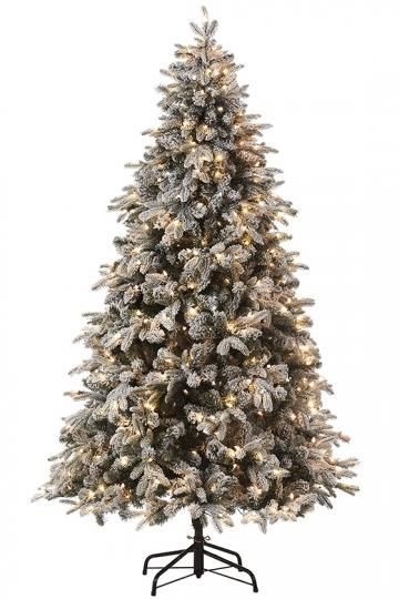 Martha Stewart Living Snowy Avalanche Pre Lit Artificial Tree