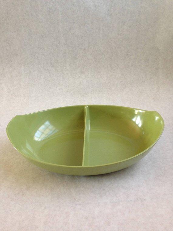 Vintage Green Melamine Bowl Melamine Bowls Vintage Green Bowl