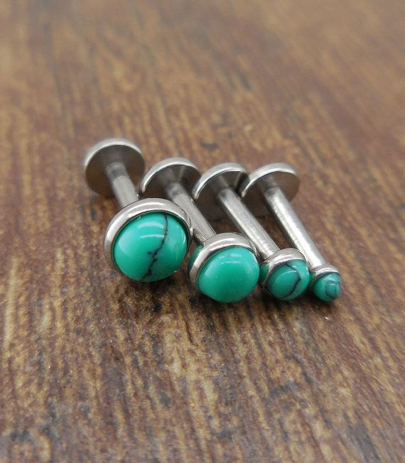 """16G 6mm 1/4"""" 2,3,4 or 5mm Green Genuine Turquoise Quad ..."""