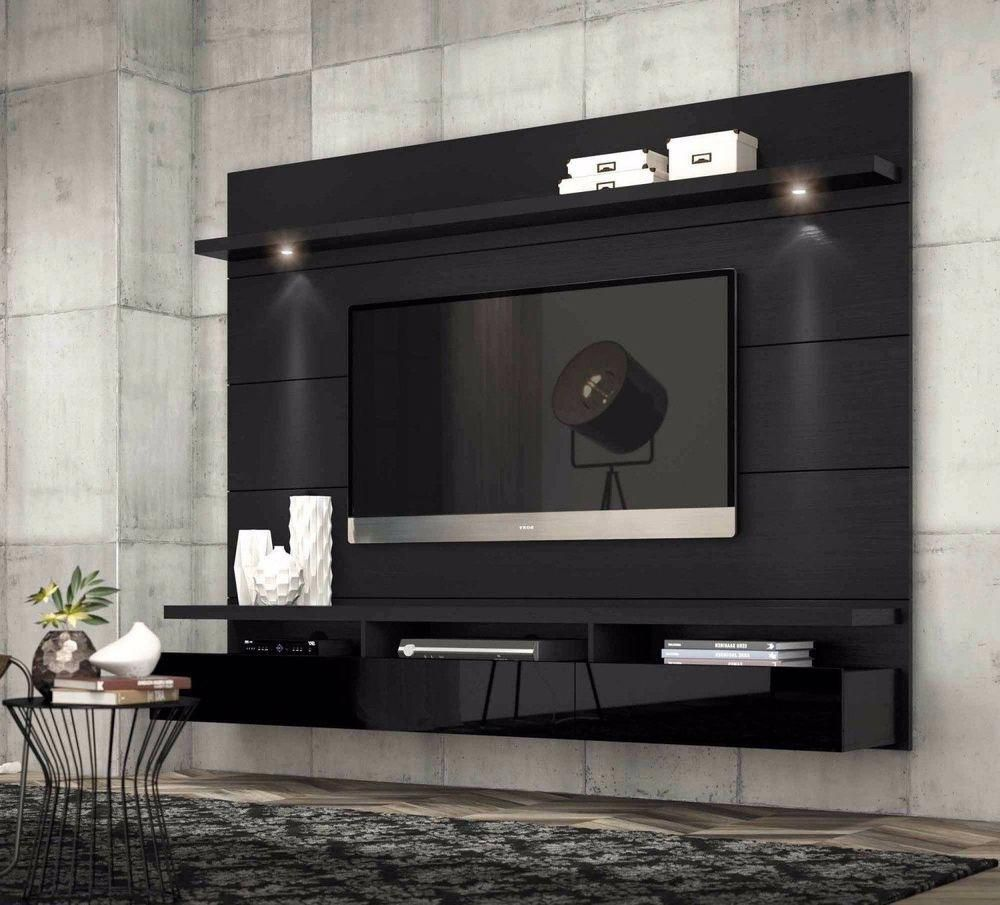 Tv Stands Fitueyes Floating Wall Mount