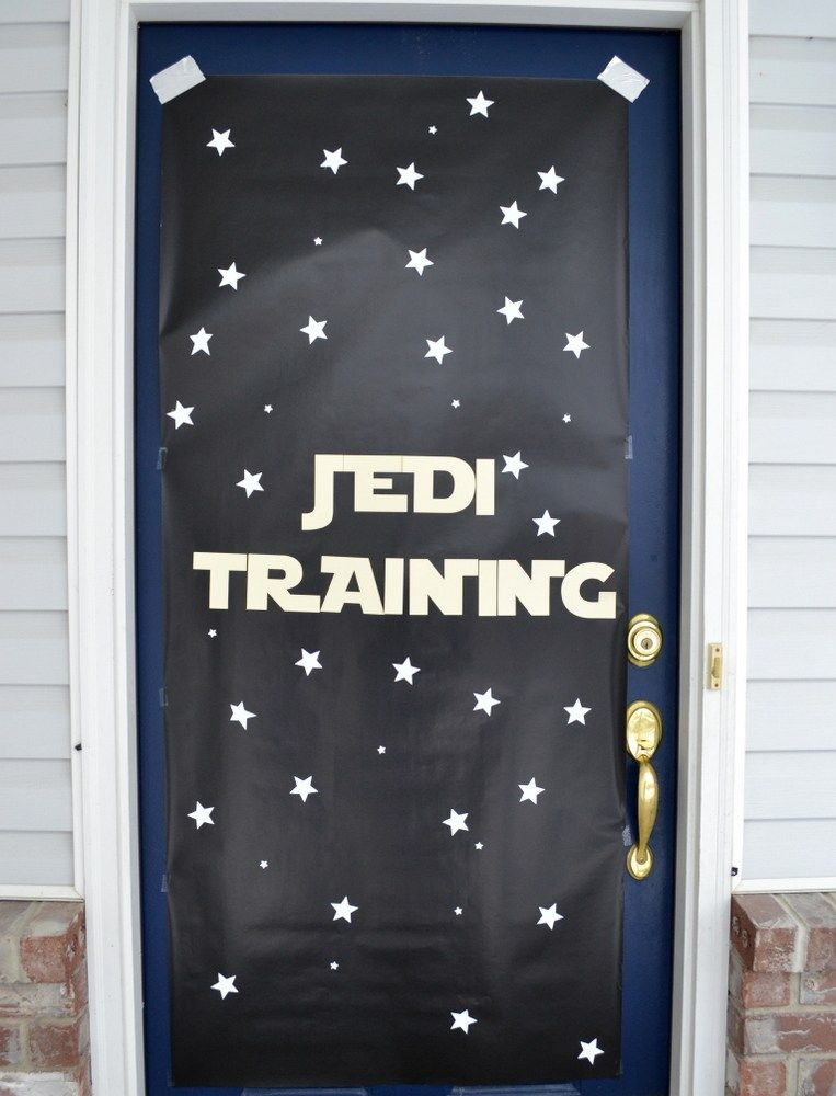 Star Wars Party Front Door Decor Star Wars Birthday Party Star Wars Birthday Star Wars Party