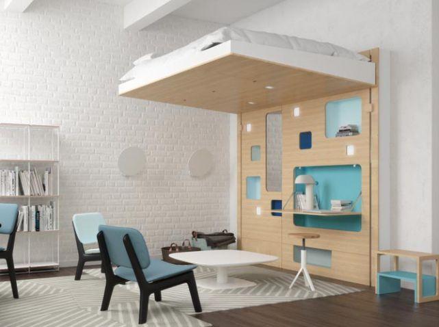 60 lits mezzanine pour gagner de la place elle décoration