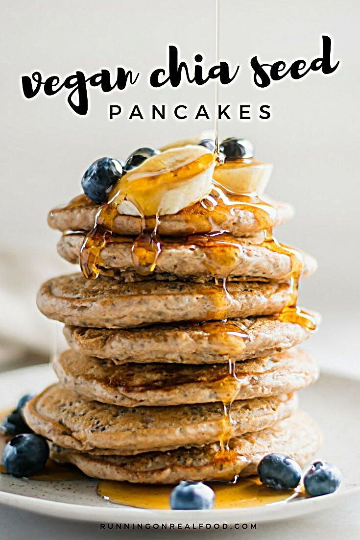 These chia seed pancakes are easy to make, light and fluffy and one of the most-loved recipes from t...