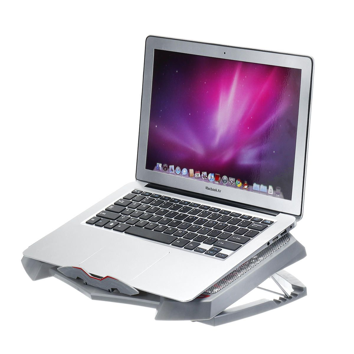 3 Fans Adjustable Cooler Cooling Stand Heat Dissipation For Laptop Macbook Under 17 Inches Laptop Cooling Stand Laptop Cooling Pad Laptop