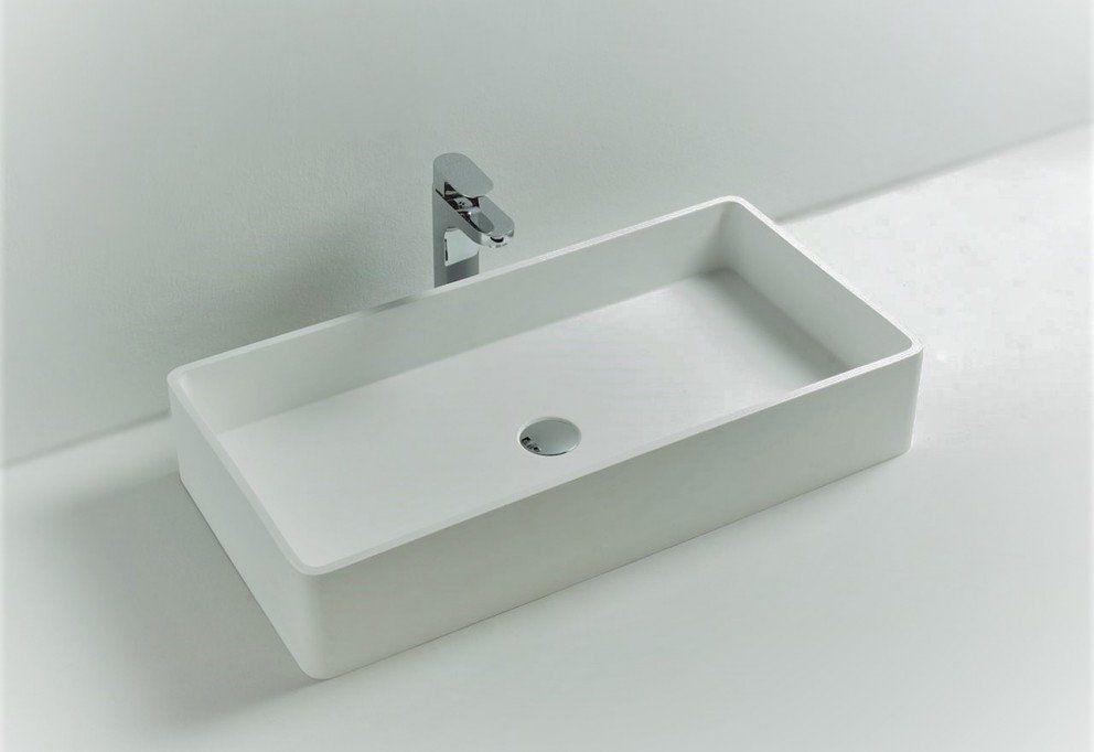 Wastafel 130 Cm : Solid surface solutions vrijstaande wastafel falco bathroom