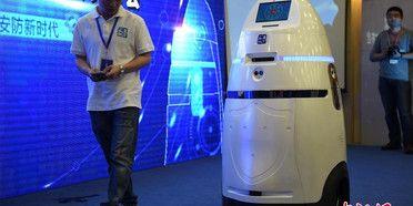 riot control robot Ahina