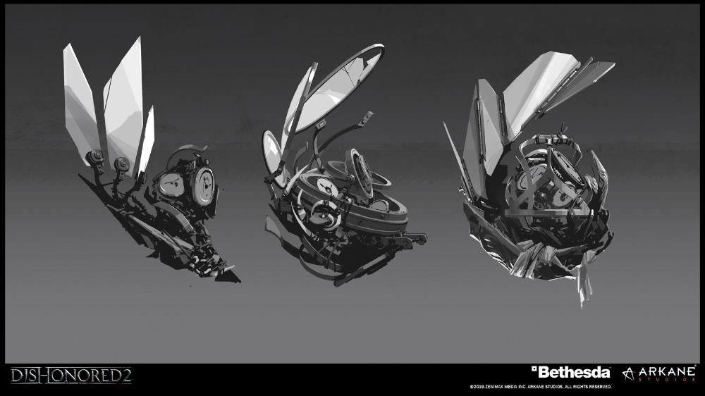 Artstation Dishonored 2 Concept Arts Part 2 Arkane Lyon Concept Art Dishonored Art