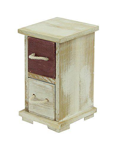 handgefertigte Mini Schränke bzw Kommoden aus Holz das Holz hat