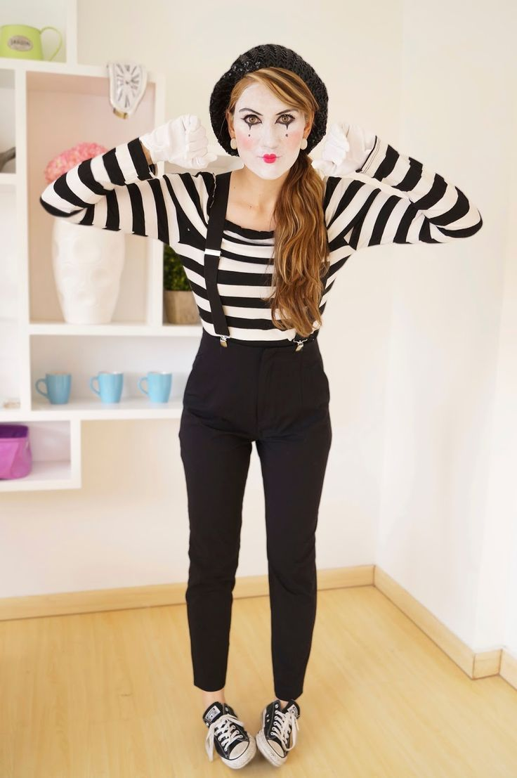 mime makeup - Google-haku: | Things to Wear | Pinterest | Mime ...