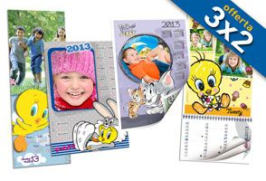 Calendari Tweety - www.rikorda.it