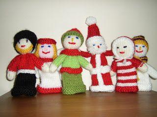 Knitting patterns galore free christmas finger puppets knitting knitting patterns galore free christmas finger puppets knitting pattern dt1010fo