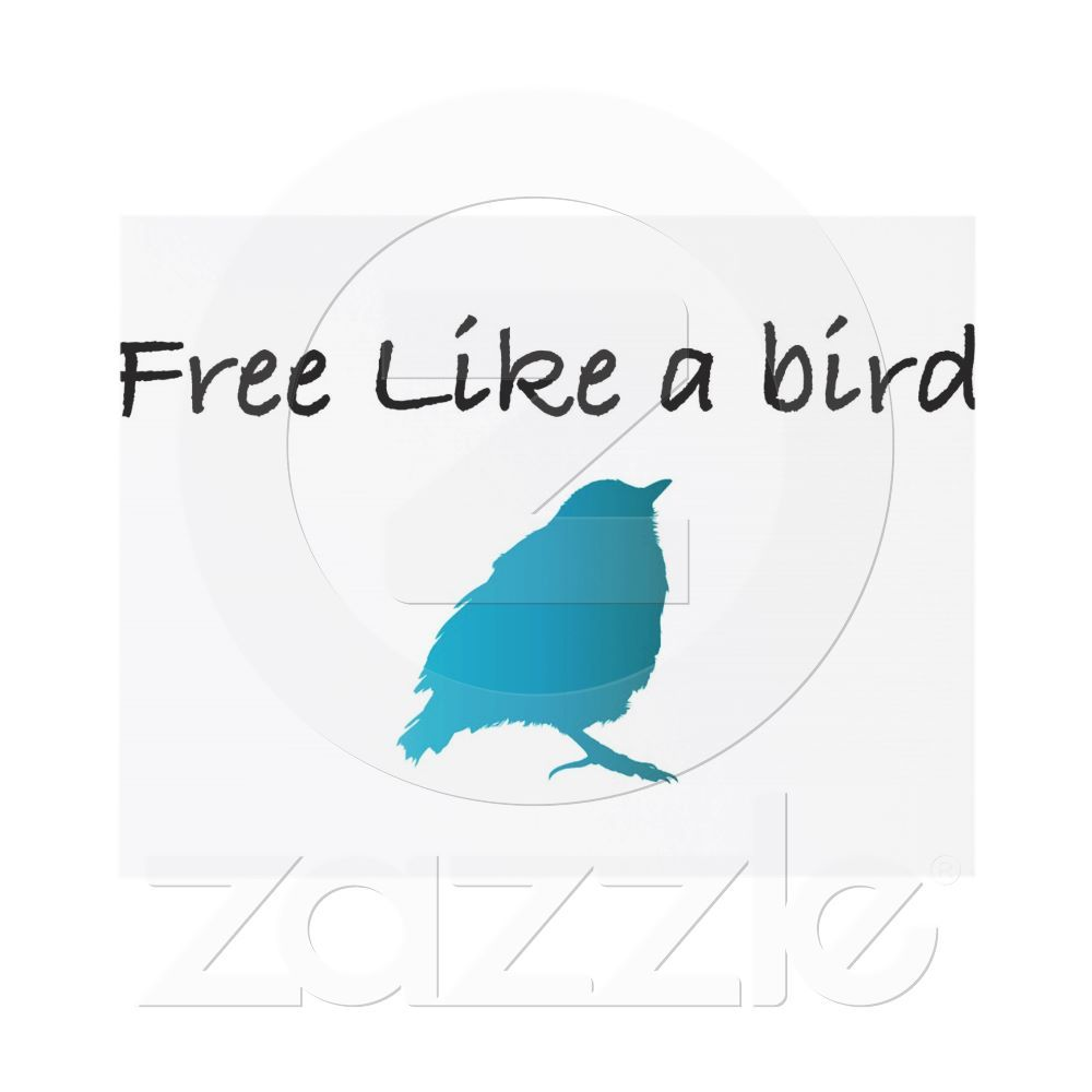 Free like a bird card | Divorce party