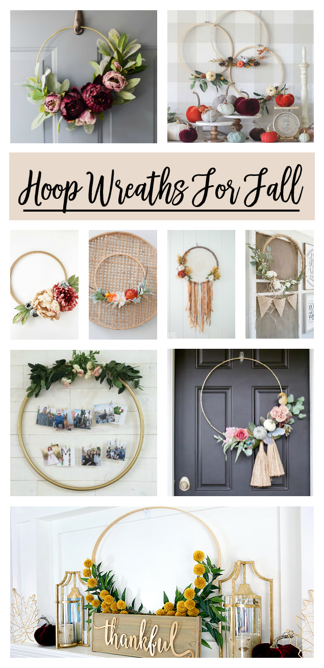 Photo of Hoop Wreath Making For Fall You'll Love | Eighteen25