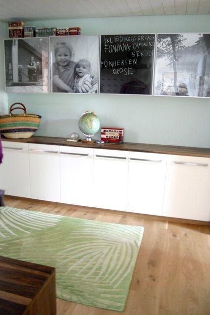Flur mit Besta Wandregal Wohnzimmer Pinterest Wandregal - wohnzimmer design programm