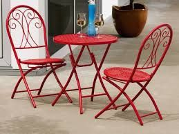 Fred Meyer Bistro Set. Named Peggy Sue. They Come In Red And Whit And
