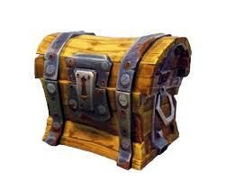 fortnite chest by z mech - coffre fortnite png