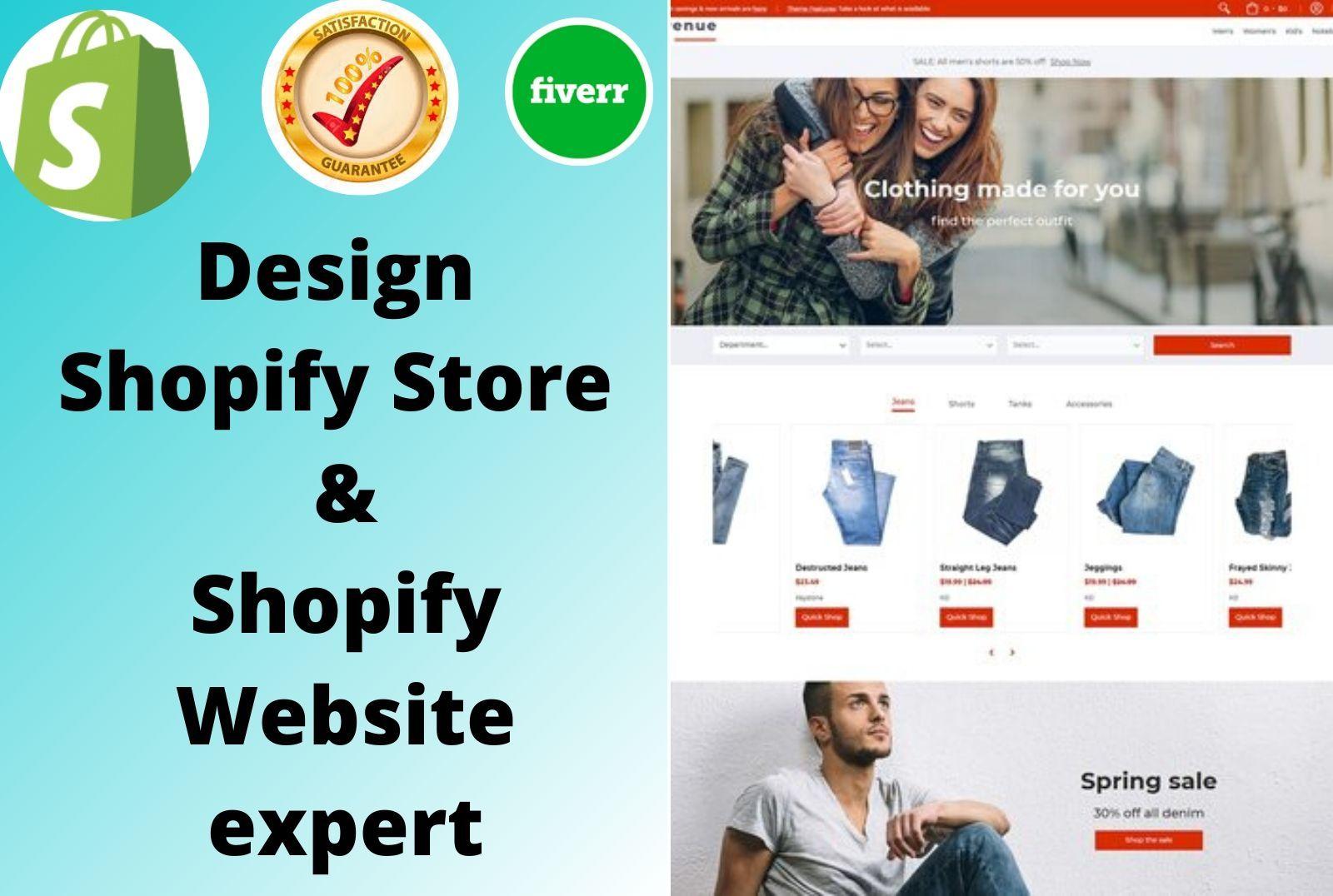 Hire A Freelance Developer For Programming Jobs Fiverr Shopify Website Fiverr Shopify Store