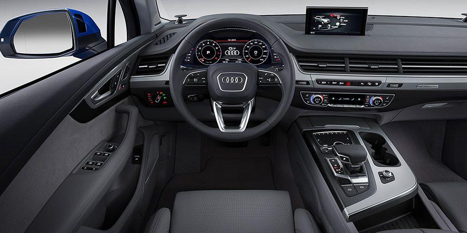Audi Q7 Audi Q7 Audi Q7 Interior Audi Q7 2015