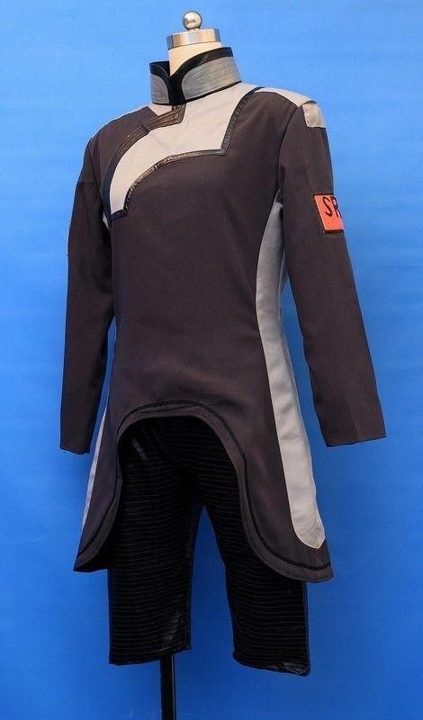 Mass Effect 2 Scientist Uniform  Cosplay Costume Custom Made /< Lotahk />