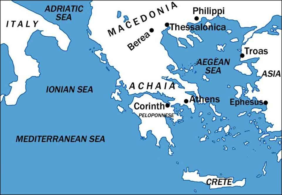 Griechenland Und Rom Die Provinz Achaia Im Romischen Reich Mit