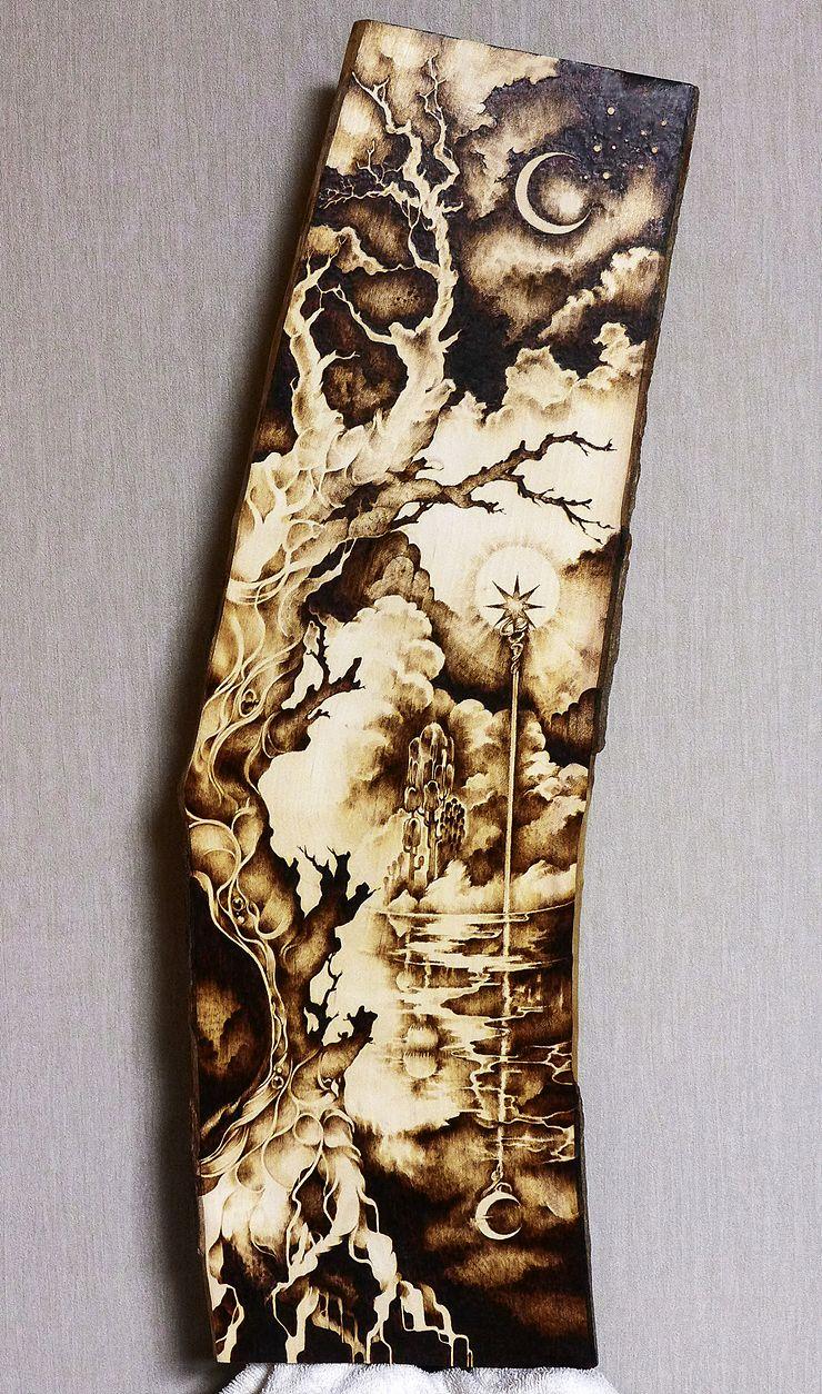 Pyrography Wood Burning Woodburning Pinterest
