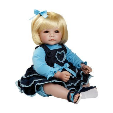 Amazon Com Adora Country Cutie 20 Baby Doll With Blonde Hair